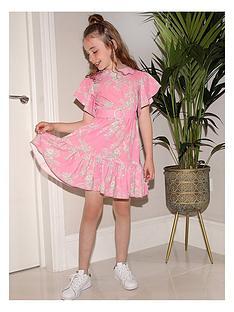 chi-chi-london-girls-kaitlin-angel-sleeve-dress-pink