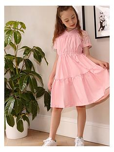 chi-chi-london-girls-autumn-ruched-bodice-dress-pink