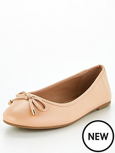 v-by-very-valuenbsplucky-wide-fit-round-toe-ballerina-nude