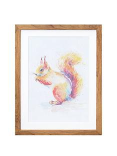 arthouse-squirrel-framed-print