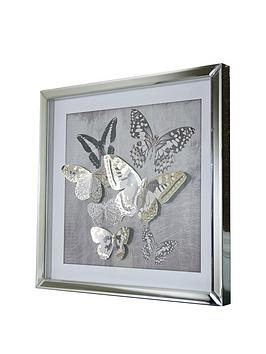arthouse-3d-butterfly-mirrored-framed-print