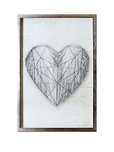arthouse-string-heart-framed-print
