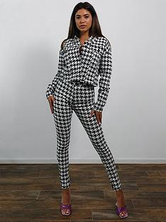 missguided-dogtooth-vice-skinny-co-ord