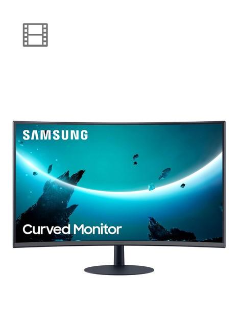 samsung-lc24t550fduxen-24-inch-full-hd-t55-1000r-curved-gaming-monitor-75hz-freesyncnbsp4ms-hdmi-vga-displayport