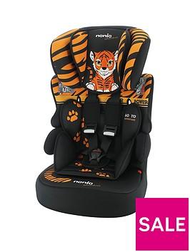 nania-beline-sp-adventure-tiger-group-123-high-back-booster-car-seat