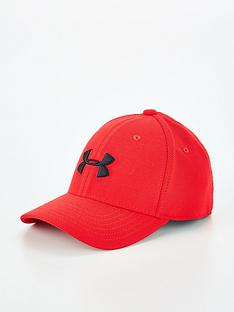 under-armour-boys-blitzing-30-cap-red