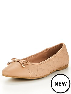 v-by-very-melissa-quilted-ballerina-shoes-nude