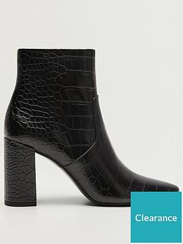 mango-croc-heeled-ankle-boot-black