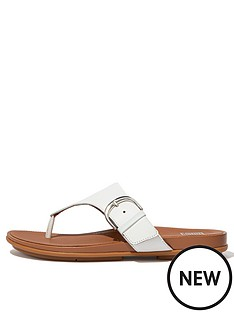 fitflop-graccie-toe-post-leather-flip-flop--nbspwhite