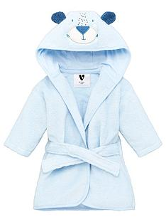 mini-v-by-very-baby-giftingnbspbaby-boys-towellingnbspbear-robe-blue