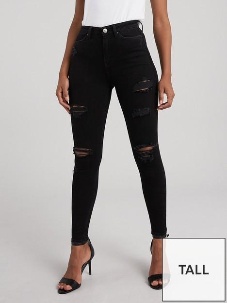 v-by-very-tall-ella-high-waistnbspskinny-jean-black