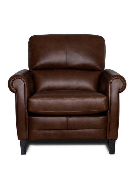 burns-leather-armchair