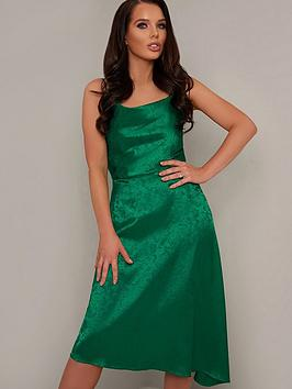 chi-chi-london-x-helen-flanagannbspalmira-cowl-neck-midi-dress-green