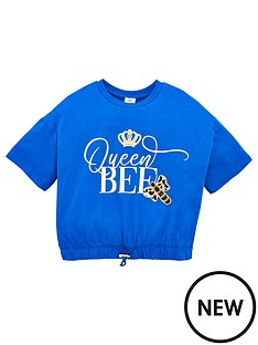 river-island-girls-queen-bee-cropped-t-shirt-blue