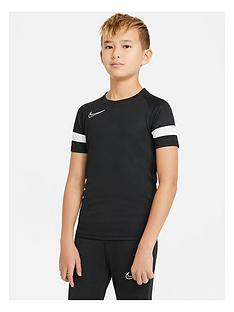nike-junior-academy-21-dry-t-shirt-black