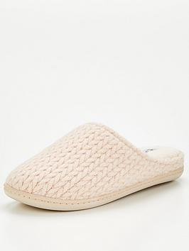 v-by-very-knitted-mule-slipper-cream