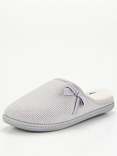 v-by-very-versus-bow-trim-stripe-mule-slipper-multi