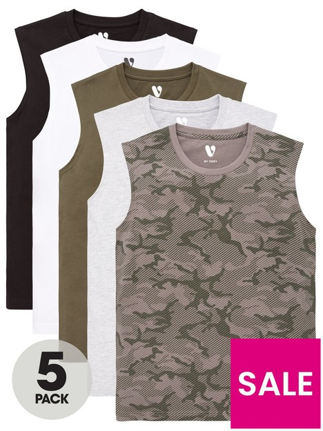 v-by-very-boys-5-pack-camo-amp-embroidered-headset-vests-multi
