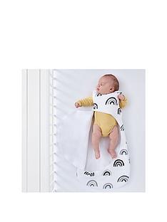 snuz-pouch-sleeping-bag-mono-rainbow-0-6-months-25-tog