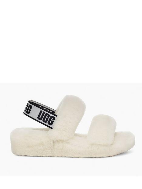 ugg-oh-yeah-slipper-white