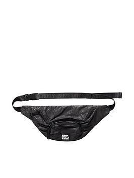 superdry-tyvek-bumbag-black