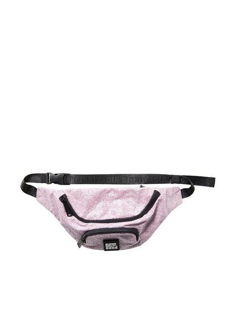superdry-glitter-bum-bag-pink