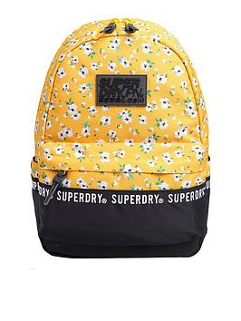 superdry-montana-floral-rucksack-yellow