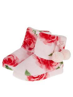monsoon-girls-pink-rose-print-slipper-boot-pink
