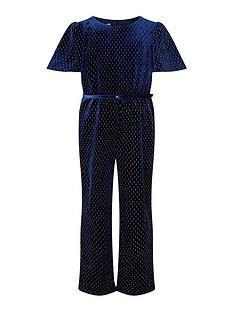 monsoon-girls-velvet-flutter-sleeve-jumpsuit-navy