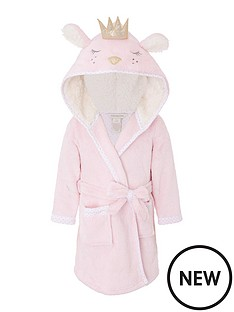 monsoon-baby-girls-bear-robe-pink
