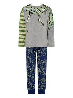 monsoon-boys-dino-pyjamas-grey