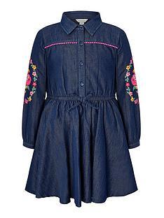 monsoon-girls-embroidered-chambray-shirt-dress-blue