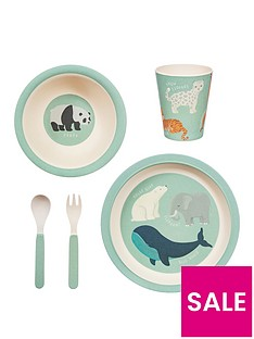 sass-belle-endangered-animals-tableware-set