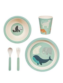 sass-belle-endangered-animals-tableware-set