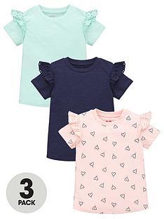 mini-v-by-very-girls-3-pack-heart-short-sleeve-frill-tees-multi