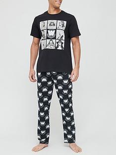 wwe-legends-pyjama-black