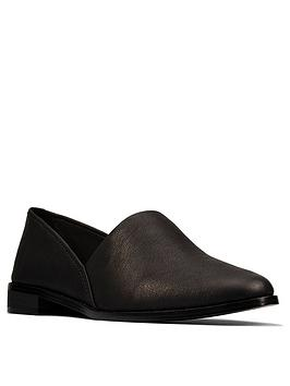 clarks-pure-easy-leather-flat-shoe--nbspblack-leather