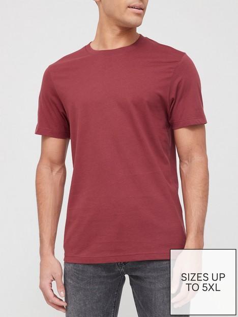very-man-essential-crew-t-shirt-burgundy