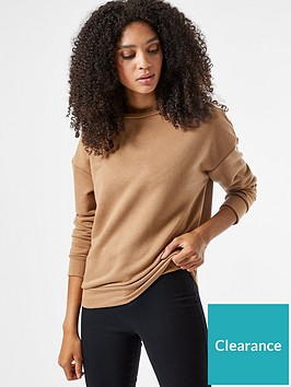 dorothy-perkins-oversized-sweatshirt-camelnbsp
