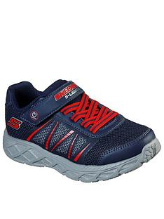 skechers-boysnbspdynamic-flash-strap-trainer-navy