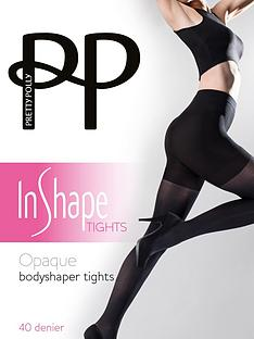 pretty-polly-opaque-bodyshaper-tights-black