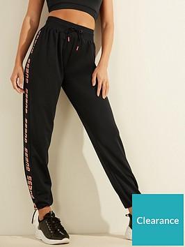guess-logo-tape-sweatpants-black