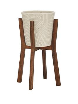 tonal-planter-on-wooden-legs