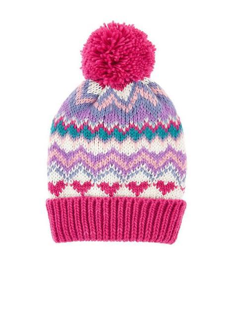 accessorize-girls-bright-fairisle-beanie-hat-multi