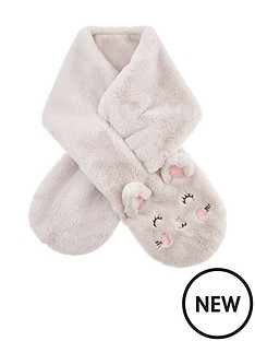 accessorize-girls-fluffy-cat-scarf-multi