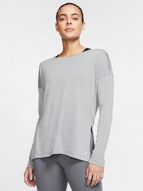nike-yoganbsptraining-layer-long-sleevenbsptop-grey