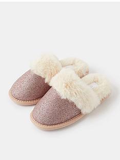 accessorize-girls-glitter-mule-slippers