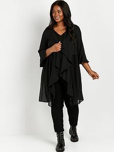 evans-longline-waterfall-jacket-black