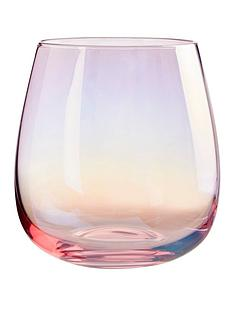 premier-housewares-frosted-deco-tumbler-glasses-ndash-set-of-4