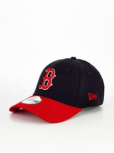 new-era-boston-red-sox-39thirty-cap-blackred